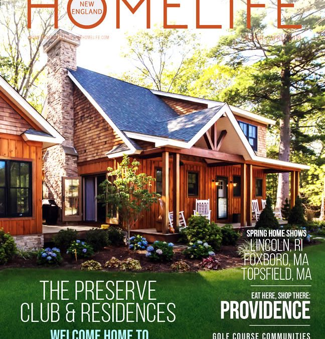 New England HomeLife Magazine March 2019 Cover & Feature Story